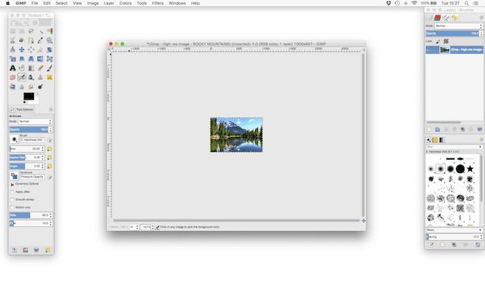 Optimising Images – Tutorial 1 – Using GIMP