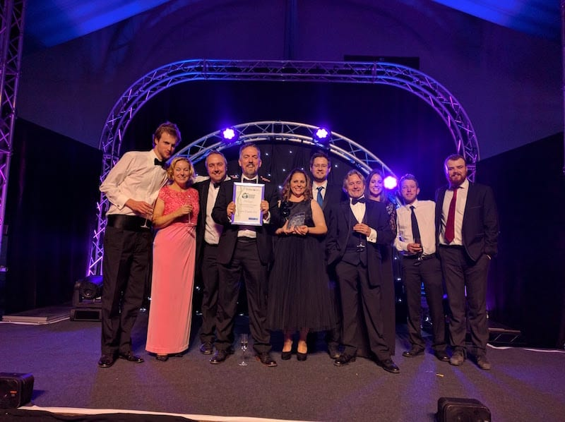 Design Agency Wins Somerset Business of the Year Award