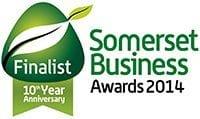 We're A Finalist! Somerset Business Awards 2014