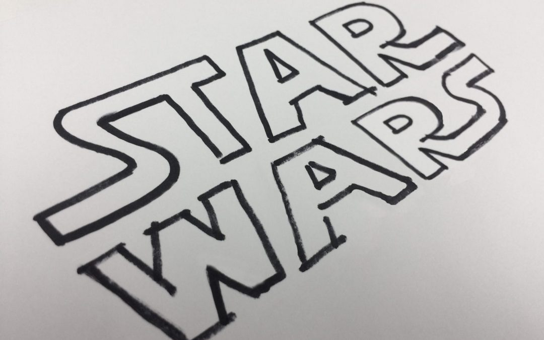 Iconic Typography – The Star Wars Logo