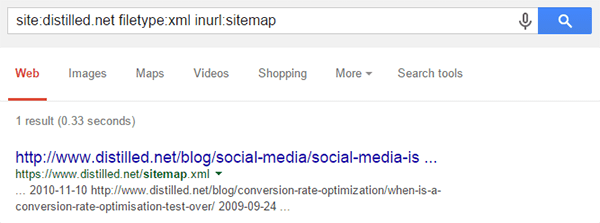 sitemap-search